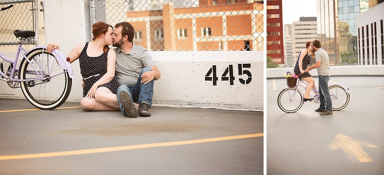 Edmonton Engagement Photography Cute Bike_0005